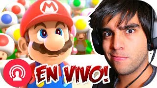 ESTRENO EN DIRECTO 😱 | MARIO + RABBIDS KINGDOM BATTLE | Ep. 1 con --ALEX--