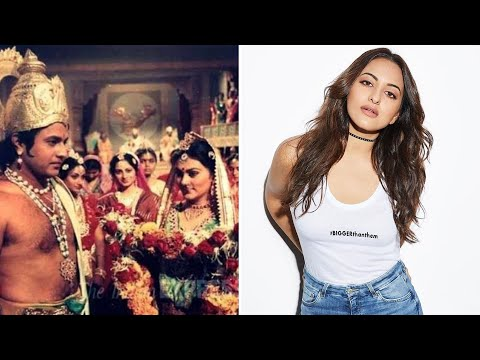 Sonakshi Sinha gets trolled by Doordarshan with post-episode 'Ramayan' poll?