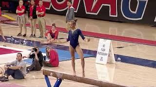Madison Kocian (UCLA) 2018 Beam vs Arizona 9.225