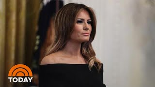 Melania Trump Talks Media And Her Marriage In New Interview   TODAY
