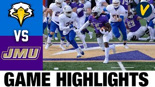 Morehead State vs James Madison Highlights  2021 Spring FCS College Football Highlights