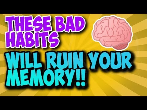 These Bad Habits Will Seriously Damage Your Memory And Concentration - Stop To Get A Better Memory