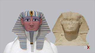 Visualizing the pyramids