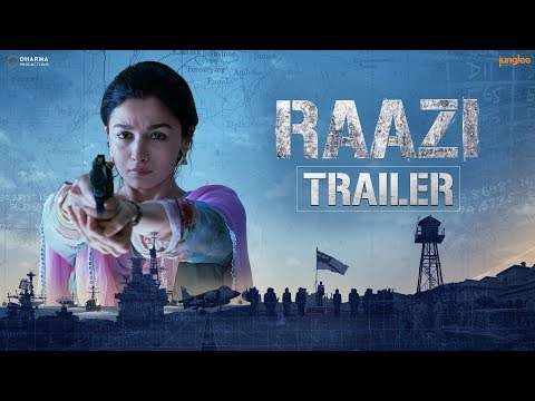 'Raazi' Official Trailer - Alia Bhatt, Vicky Kaushal - Directed by Meghna Gulzar