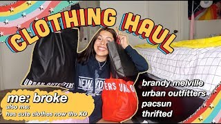 TRY-ON CLOTHING HAUL FOR BACK 2 SCHOOL SEASON 2019 & EXCITING ANNOUNCEMENT