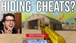 Warzone Cheater tries to HIDE his Cheats!