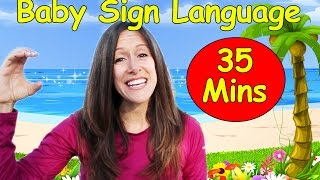 Baby Language Song ASL   American Sign Language Collection   14 videos  