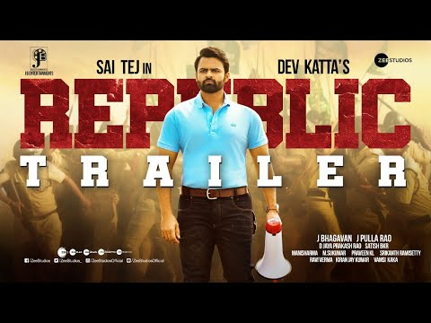 Official trailer: Republic starring Sai Dharam Tej, Aishwarya Rajesh
