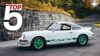 Porsche Top 5 - Lightest Porsche Models