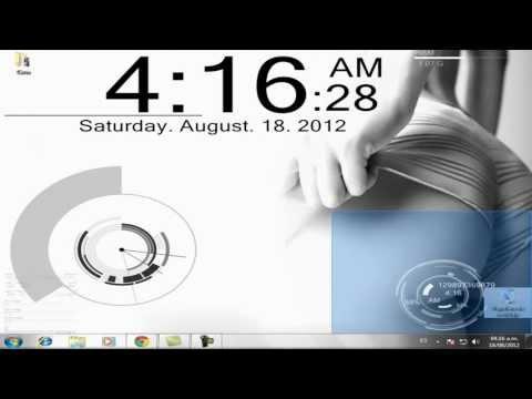 Tutorial: Descargar e Instalar RainMeter + Skins