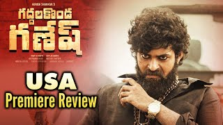 Valmiki Movie USA Premiere Review