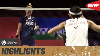 YONEX Thailand Open | Only one women's finals spot available and they aren't holding back to bag it