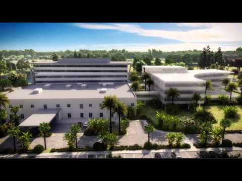 UF Health Jacksonville North Flyover Animation