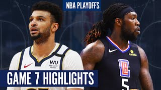 NUGGETS vs CLIPPERS GAME 7 - Full Highlights   2020 NBA PLAYOFFS