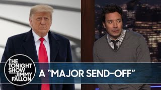 Trump Asks for Big Send-Off Before Biden's Inauguration | The Tonight Show