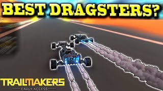 MAKING the FASTEST DRAGSTER? (Racing Update Multiplayer) - Trailmakers Early Access Gameplay Ep10
