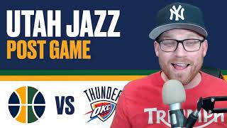 Utah Jazz vs Oklahoma City Thunder: Post Game Reaction - Westbrook and George toy with the Jazz