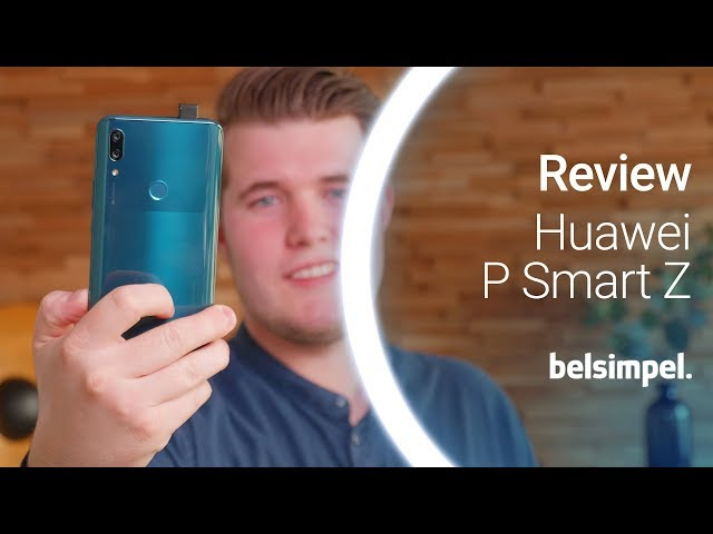 Belsimpel-productvideo voor de Huawei P Smart Z Blue