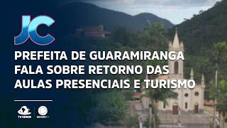 Prefeita de Guaramiranga fala sobre retorno das aulas presenciais e turismo