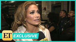 Watch Jennifer Lopez Tear Up Backstage After GRAMMYs Motown Tribute (Exclusive)