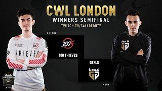 100 Thieves vs Gen.G | CWL London 2019 | Day 2