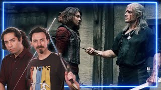 Sword Experts REACT to The Witcher | Experts React