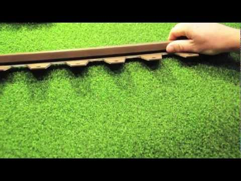 Artificial Turf Edger Review Amp Intro To Wonder Edge Youtube