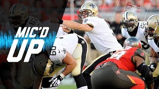 """Drew Brees Mic'd Up vs. Buccaneers """"You're Either the Hunter or the Hunted"""" 