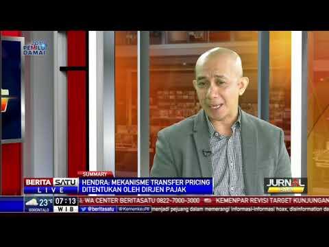 Direktur Eksekutif  APBI, Hendra  Sinadia  di Berita  Satu TV, Dialog: Jual Beli Batubara Diawasi KPK #1