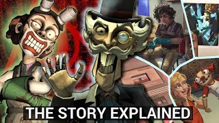 Hello Puppets - The Story Explained (Horror Game Theories)
