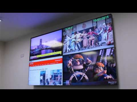 Allsee LCD Video Wall Displays with 49 Inch