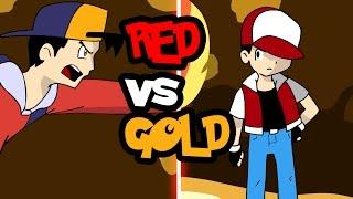 Pokemon Red vs Gold FULL FIGHT