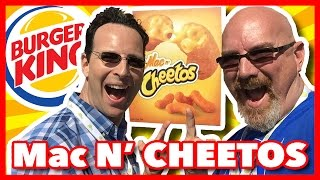 Burger King Mac n' Cheetos Review with Ian Keiner Peep This Out!