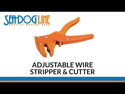 Wire Stripper & Cutter-From Sea-Dog Line