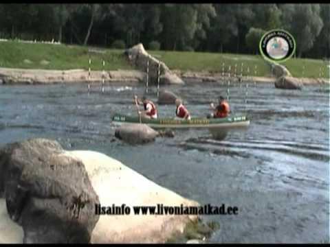 2/17 Kanuumatk - Koiva Valmiera kärestik.