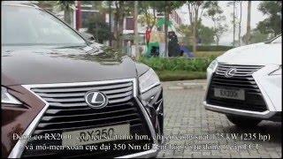 Khám phá Lexus RX 2016 hoàn toàn mới