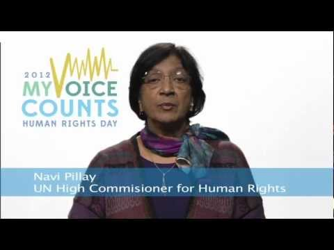 The Right to Participate - Human Rights Day 2012