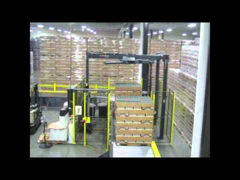 Aloi Materials Handling Stretch Wrapper Installation