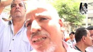 التحرير فيديو| وقفه احتجاجيه ضد قانون الخدمه المدنيه امام نقابه الصحفيين     -