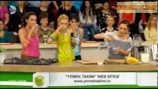 Yemek Takımı Spor Sonrası İçecek Tarifi Canlı izle 27.11.2013