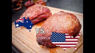 Beef Battle !!!  American Black Angus vs. Australian Wagyu