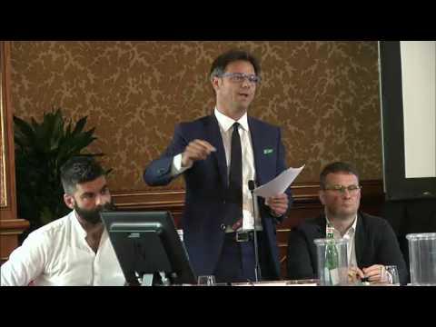 Angelo Ciocca (Lnp) al convegno di Milano di As.Tro