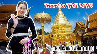 How to Travel Thailand cheap ▶ Experience Nice Places, Street Food, Night Market in Chiang Mai