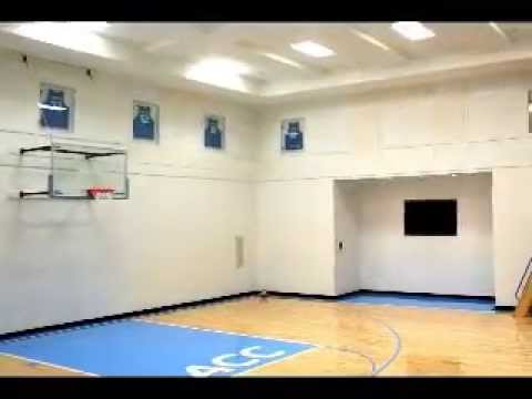 Custom Acoustic Panels for an In-Home Basketball Court