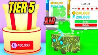*NEW* I GOT 10 OF THE RAREST ROBUX HATS IN PET SIMULATOR UPDATE! *INSANE* (Roblox)
