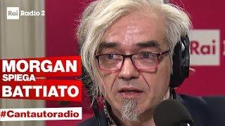 A Cantautoradio Morgan spiega la sua teoria su Franco Battiato