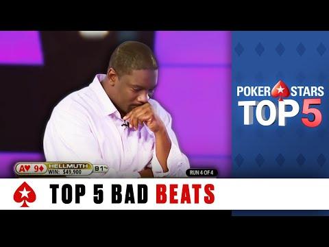 Le 5 peggiori bad beat del poker live!