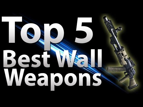 'TOP 5' Wall Guns in 'Call of Duty Zombies' -