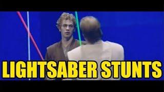 Star Wars Episode III Lightsaber Stunts