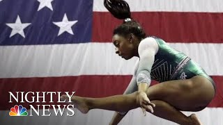 Simone Biles Makes History Three More Times | NBC Nightly News